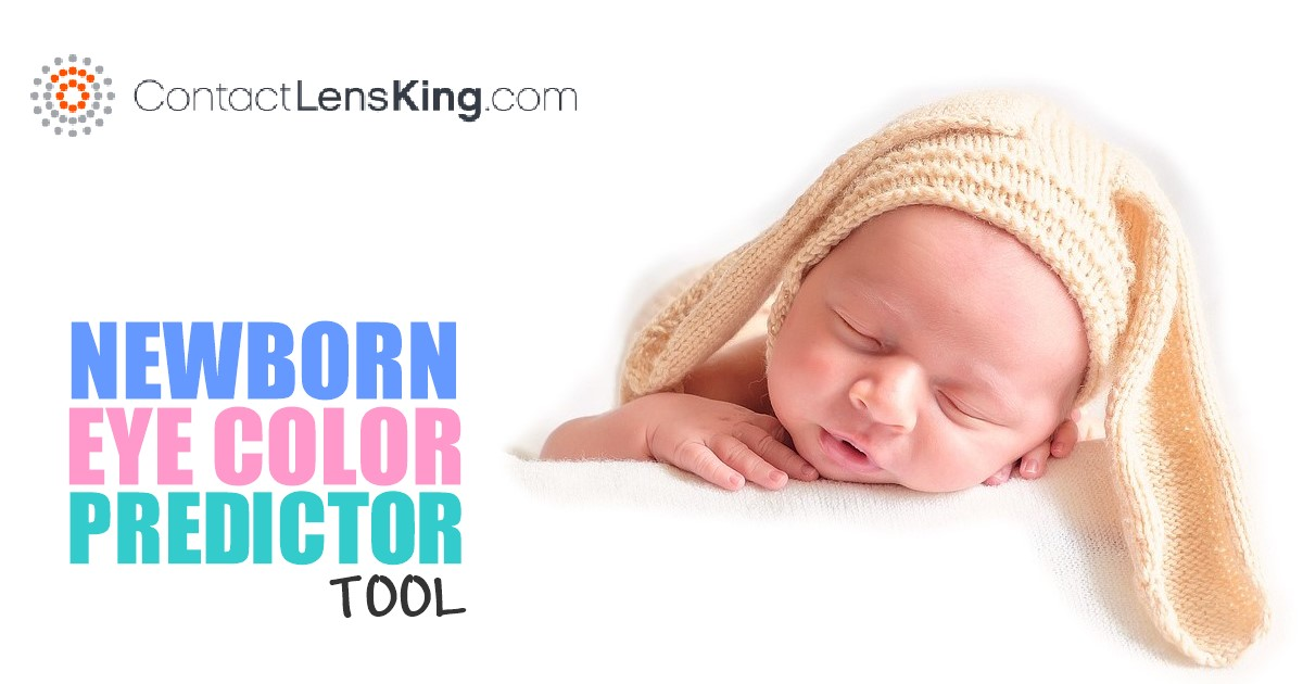 Newborn baby eye color