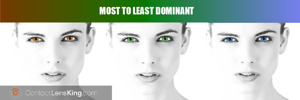 dominant eye colors