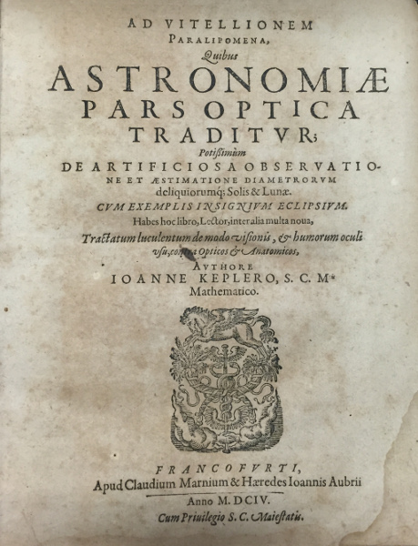 Astronomia Pars Optica