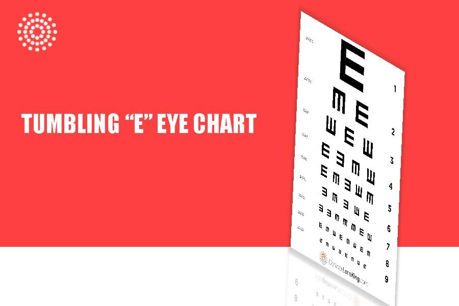 Tumbling E Eye Chart